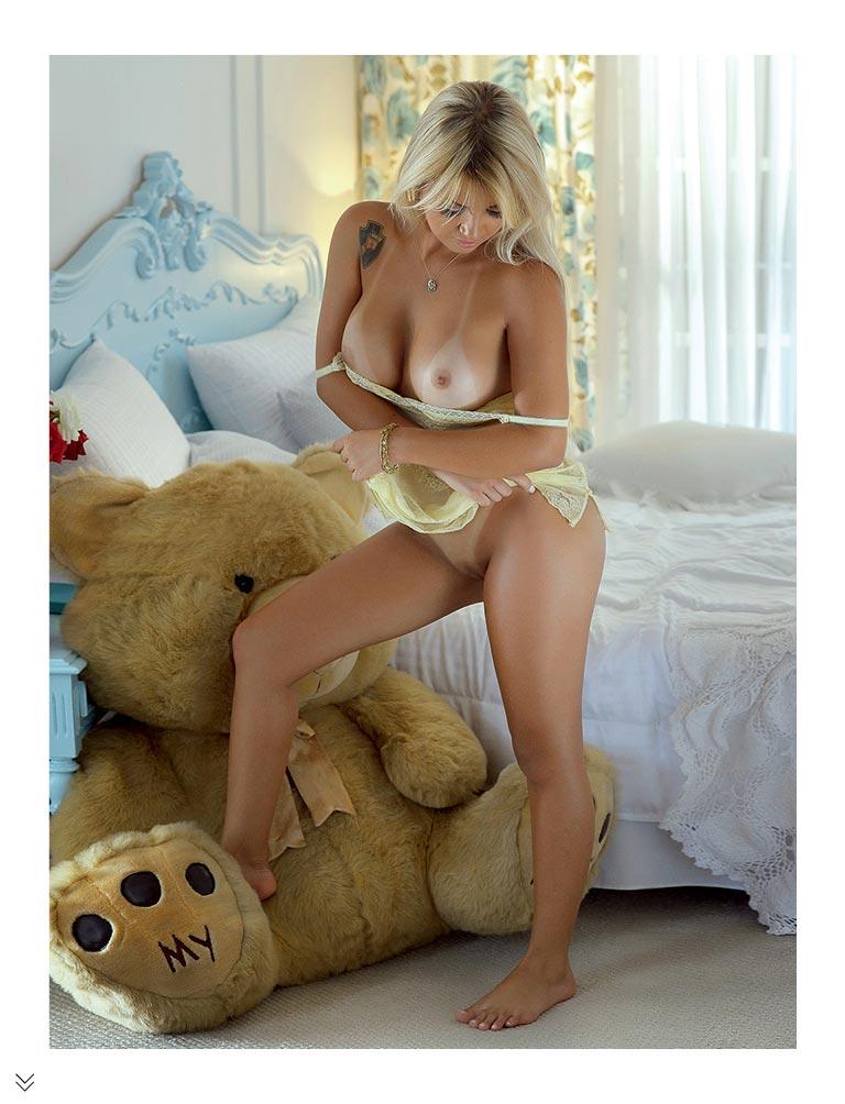 Bianka Cabral na revista sexy janeiro 2017