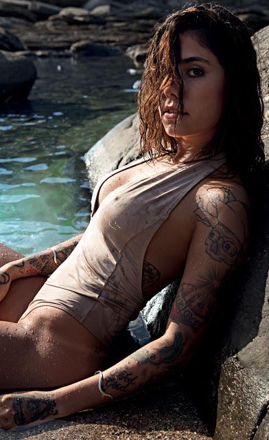 Fotos da Gabriela Rippi revista Playboy janeiro 2017