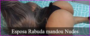 Esposa rabuda mandou nudes