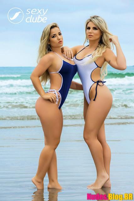 Caroline Aguiar e Micheline Cruz Revista Sexy maio 2017 fotos grátis