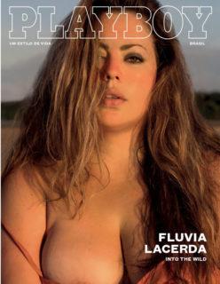 Fluvia Lacerda pelada na Playboy de fevereiro 2017