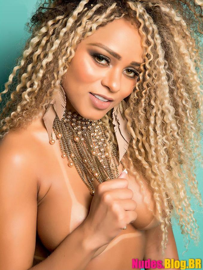 Revista Sexy Março – Ana Saad pelada + video Making Of