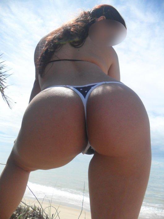 Fotos da esposa  gostosona na praia